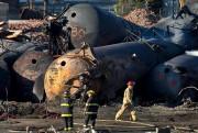 La tragédie ferroviaire qui a ravagé le centre-ville... (Archives La Presse, Robert Skinner) - image 2.0