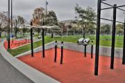 Modules d'entraînement dans un parc près du Centre... (Photo fournie par la Ville de Montréal) - image 1.0