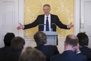 L'ex-premier ministre britannique Tony Blair s'est adressé aux... (AFP, Stefan Rousseau) - image 2.0