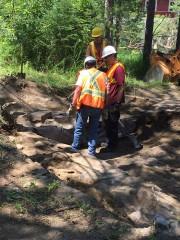 Les fouilles archéologiques ont débuté récemment à Coaticook... (Photo tirée de Facebook) - image 2.0