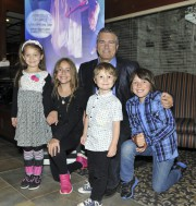 Méliane, 6 ans, Maélie 11 ans, Thomas, 3... (Photo Le Quotidien, Rocket Lavoie) - image 1.0