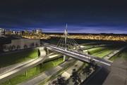 Illustration du nouveau pont qui remplacera le viaduc... (ILLUSTRATION FOURNIE PAR LE MINISTÈRE DES TRANSPORTS DU QUÉBEC) - image 1.1