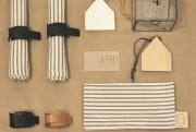 Ronds de serviettes en cuir, 35 $ l'ensemble... (Fournie par Quatre murs et un toit) - image 4.0