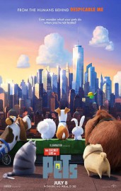 Affiche du film The Secret Life of Pets... (IMAGE FOURNIE PAR UNIVERSAL PICTURES) - image 1.0