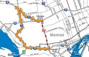 L'autoroute Décarie (A15) sera complètement fermée, dans les... (ILLUSTRATION FOURNIE PAR LE MINISTÈRE DES TRANSPORTS DU QUÉBEC) - image 1.0