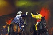 Même des batailles épiques sont mises en scène.... (Photo Le Quotidien, Rocket Lavoie) - image 1.1