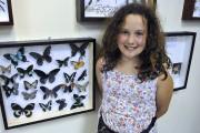 La jeune Juliette Larouche, neuf ans, était émerveillée... (Photo Le Progrès-Dimanche, Rocket Lavoie) - image 1.0