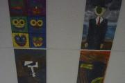 À l'école Saint-Jean-Baptiste, on retrouve un plafond représentant... (Photo courtoisie) - image 1.0