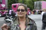 L'instigatrice de la randonnée, Sylvie Brisebois.... (Julie Catudal, La Voix de l'Est) - image 1.0