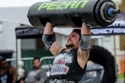 La compétition d'hommes forts s'est déroulée sous la... (Andréanne Lemire) - image 2.0