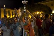 Des partisans en liesse célébraient la victoire de... - image 2.0