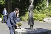 Le premier ministre Justin Trudeau et son fils... (AFP, Anatolii Stepanov) - image 4.0