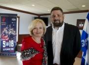 La ministre du Tourisme, Julie Boulet, et le... - image 1.0