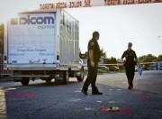 C'est ce camion de livraison qui a heurté... (François Gervais) - image 1.0