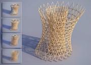 Chaque composante en bois structurel est constituée d'une... (Vincent Callebault Architectures) - image 2.0