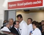 Le président français François Hollande s'est rendu à... (PHOTO ERIC GAILLARD, AP) - image 1.0