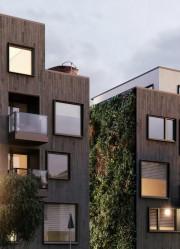 Côté rue, les façades des immeubles auront un... (ILLUSTRATION FOURNIE PAR KNIGHTSBRIDGE) - image 3.0