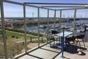 La terrasse duResto-bar de la marinaoffre une vue... (Le Soleil, François Bourque) - image 10.0