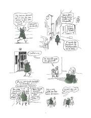Le Petit Chaperon vert de la couverture de son livre, c'est Catherine Meurisse... - image 2.0