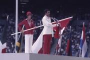 C'est l'haltérophile québécois Pierre St-Jean avaitprononcé le serment... (Archives La Presse) - image 1.0