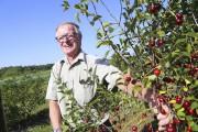 Le propriétaire de la ferme de la Castagne,... (Janick Marois, La Voix de l'Est) - image 6.0