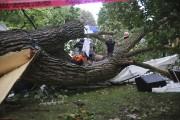 De grands vents et les conditions climatiques orageuses... (Christophe Boisseau-Dion, La Voix de l'Est) - image 1.0