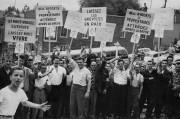 Le conflit de 1957 touchait le coeur de... (Archives Société historique du Saguenay) - image 4.0