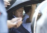 Le président Erdogan à l'aéroport d'Istanbul, samedi.... (Photo Huseyin Aldemir, REUTERS) - image 1.0