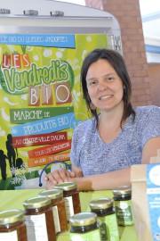 La coordonnatrice de la coopérative Nord-Bio, Audrey Bouchard... (Photo Le Progrès-Dimanche, Gimmy Desbiens) - image 5.0