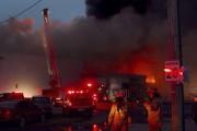 Plus de 100 pompiers ont été nécessaires pour... (Fournie) - image 1.0