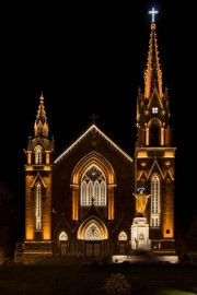 La mise en lumière de l'église Sainte-Agnès de... - image 1.0