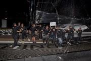 L'équipe duSpindrift 2acélèbré sa victoire de la Transat... (Pierre Bouras, Transat QSM) - image 2.0