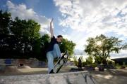 Frédérique Luyet au P45, un parc de planches... (PHOTO CHARLES LABERGE, COLLABORATION SPÉCIALE LA PRESSE) - image 2.0
