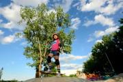 Maya Vasquez, 8 ans, ne laisse pas sa... (PHOTO CHARLES LABERGE, COLLABORATION SPÉCIALE LA PRESSE) - image 3.0
