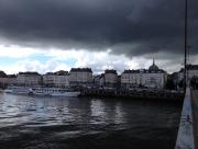 Vue de Nantes, au bord de la Loire