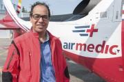 Le vice-président marketing et communication d'Air Médic, Aziz... (Photo Le Quotidien, Michel Tremblay) - image 3.1