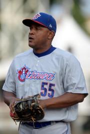 Le vétéran Cubain Alexander Malleta, des Champions d'Ottawa... (Le Soleil, Erick Labbé) - image 2.0