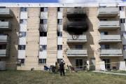 L'immeuble où s'est produit le tragique accident. M.... (THE CANADIAN PRESS) - image 2.0