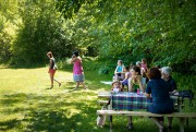 Les jardins Herbes Orford sont situés à proximité... (PHOTO MARCO CAMPANOZZI, LA PRESSE) - image 2.0