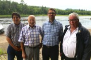 Le président de Nautique St-Maurice, Denis Lacerte, le... - image 1.0