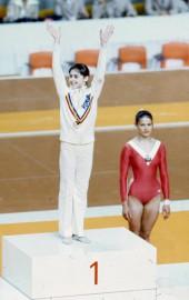 En 1976, la gymnaste Nadia Comaneci a conquis... (PHOTO PIERRE McCANN, ARCHIVES LA PRESSE) - image 1.0