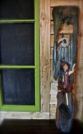 Une applique murale fabriquée à partir de bois... (Photo collaboration spéciale, Johanne Fournier) - image 2.0