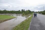 À Saint-Honoré, les approches des ponts ont été... (Photo Le Quotidien, Michel Tremblay) - image 3.0
