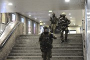 La fusillade ayant semé la panique à Munich... (AP, Andreas Gebert) - image 1.0