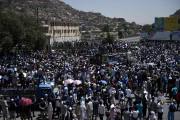 La manifestation de Kaboul réunissait, avant l'attentat de... (Photo WAKIL KOHSAR, AFP) - image 1.0