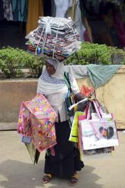 Comme chaque matin, Mama Biliki prépare ses petits... (AFP, Pius Utomi Ekpei) - image 2.0