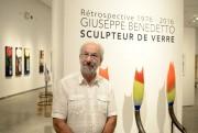 Giuseppe Benedetto expose au CNE jusqu'au 18 septembre.... (Photo Le Progrès-Dimanche, Jeannot Lévesque) - image 3.0