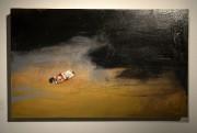 Agnès Riverin réalise ses tableaux, comme La dérive... (Photo Le Progrès-Dimanche, Jeannot Lévesque) - image 6.0