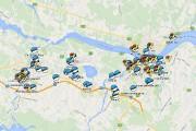 Voici une carte de Saguenay montrant les Pokéstop... (Photo tirée d'Internet) - image 2.1
