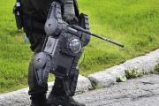 Les agents ont utilisé le robot de la... (Photo Le Progrès-Dimanche, Rocket Lavoie) - image 2.0